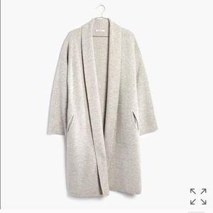 Madewell Rivington Sweater Coat Cardigan Size M